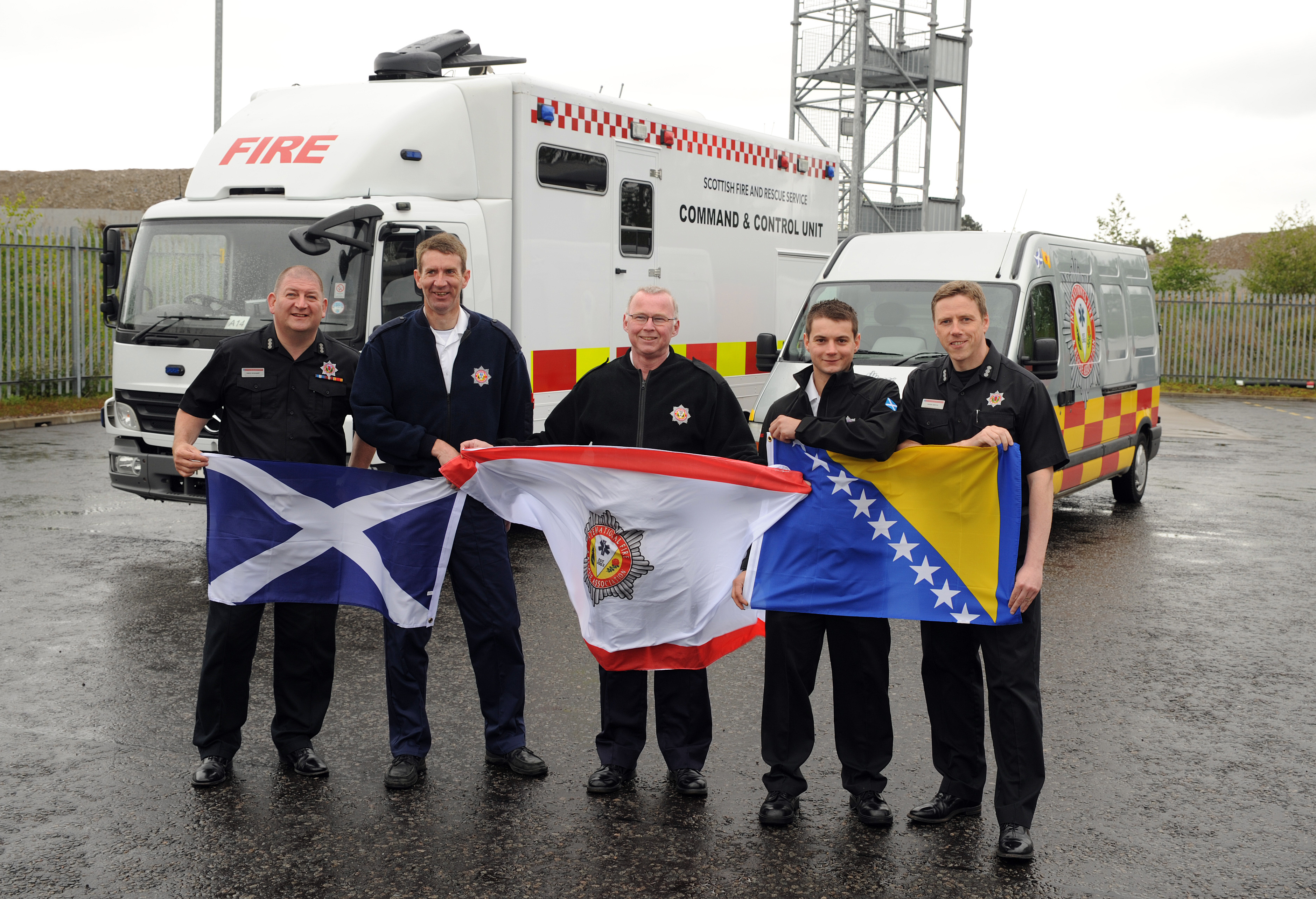 Bosnia training mission for International Fire and Rescue Association