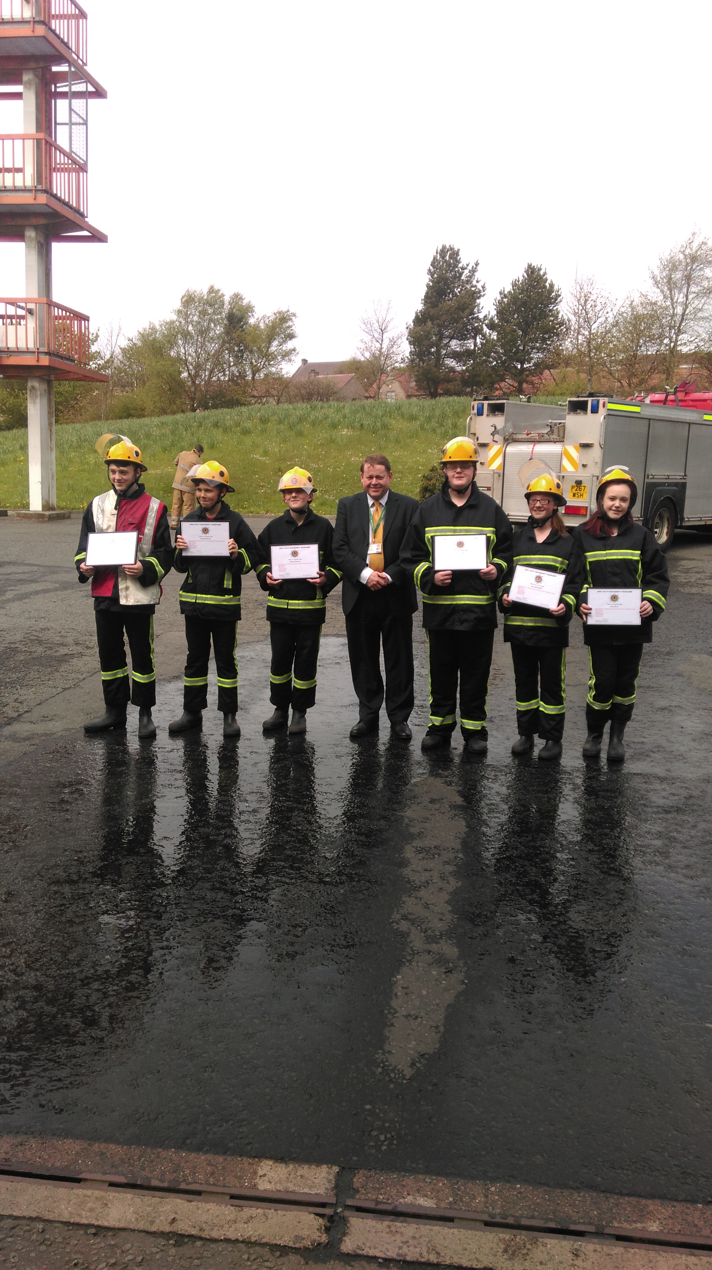 Youth engagement programme with St Kentigern's Academy, West Lothian