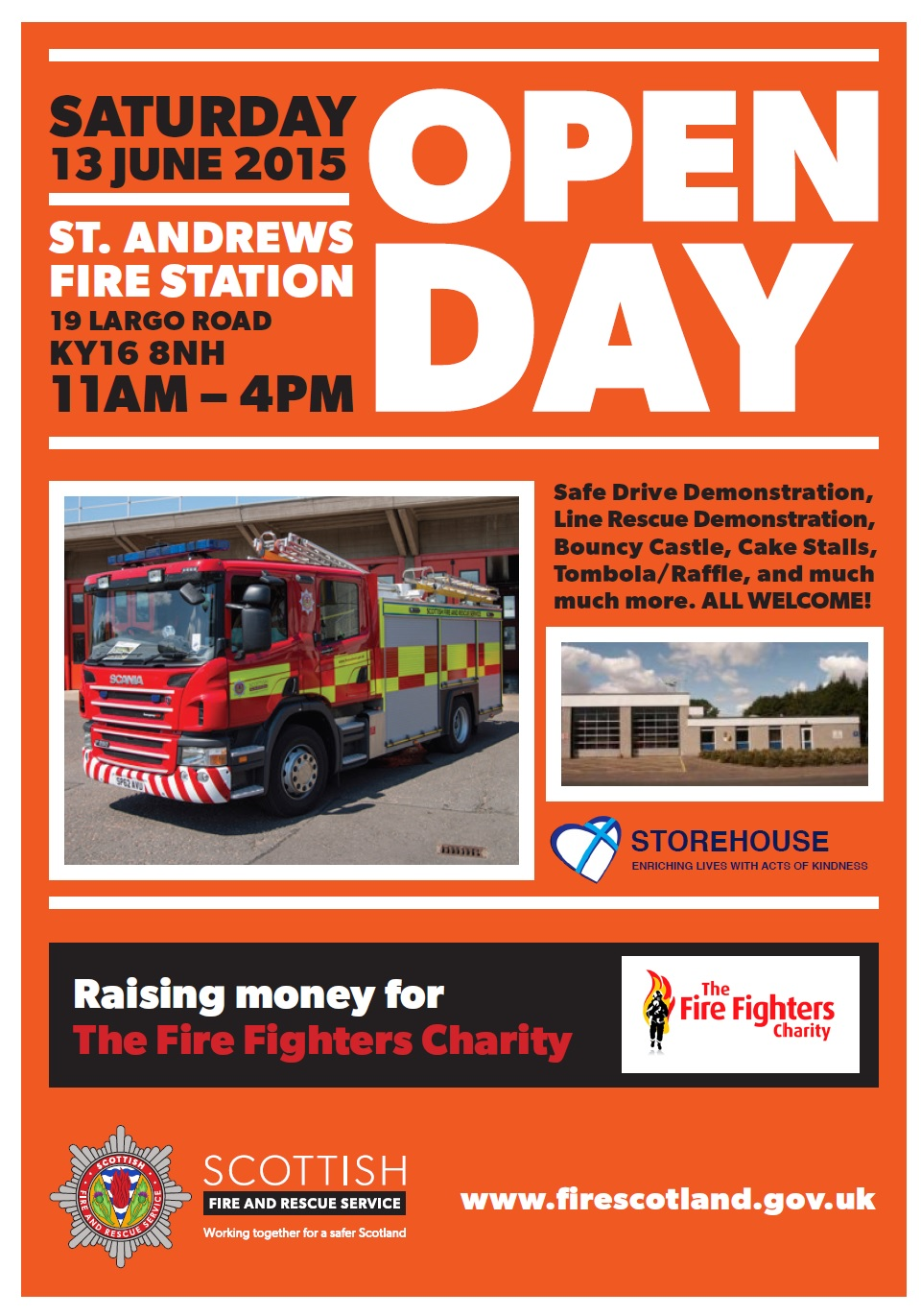 Open day at St Andrews fire station