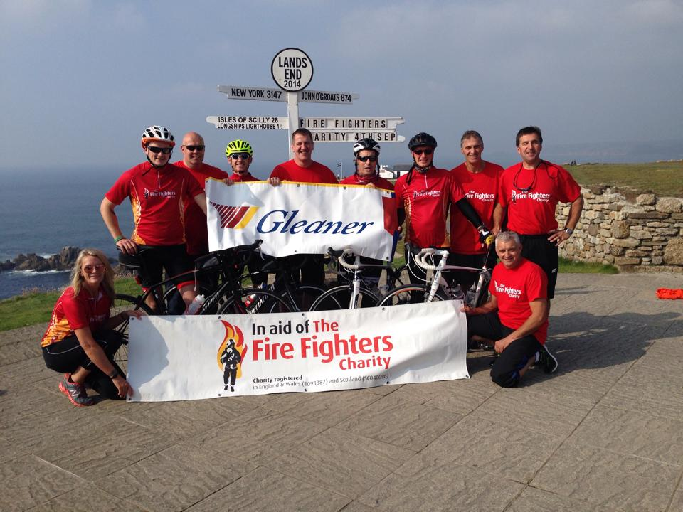 SFRS team shortlisted for Firefighters' Charity Team of the Year award