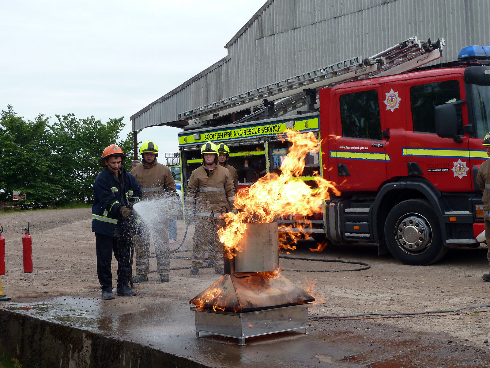 SFRS and partners host migrant worker roadshows in Angus to promote safety