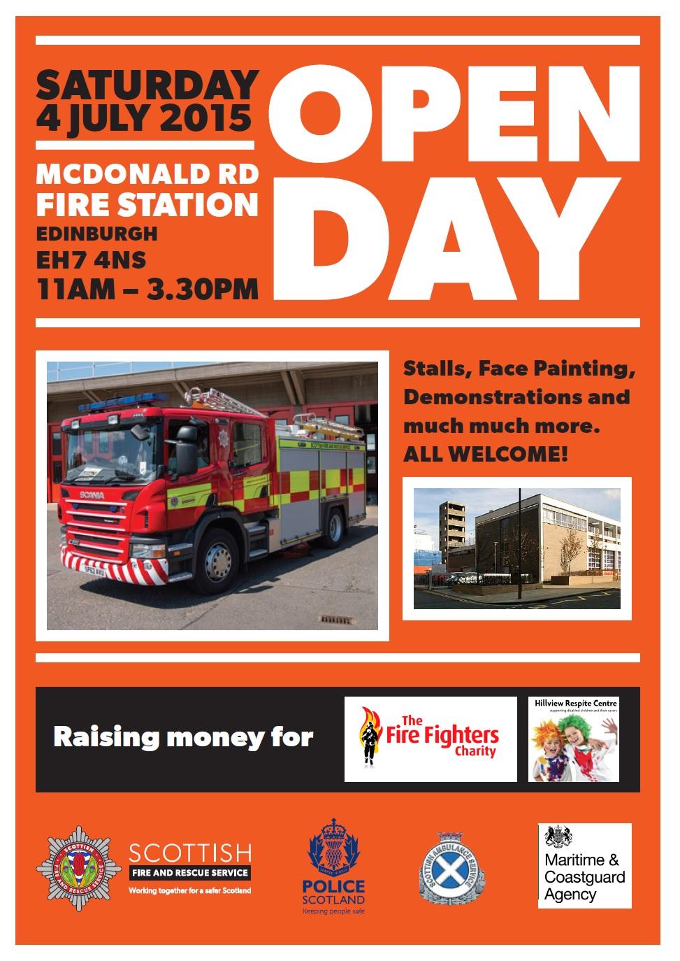 McDonald Road Open Day