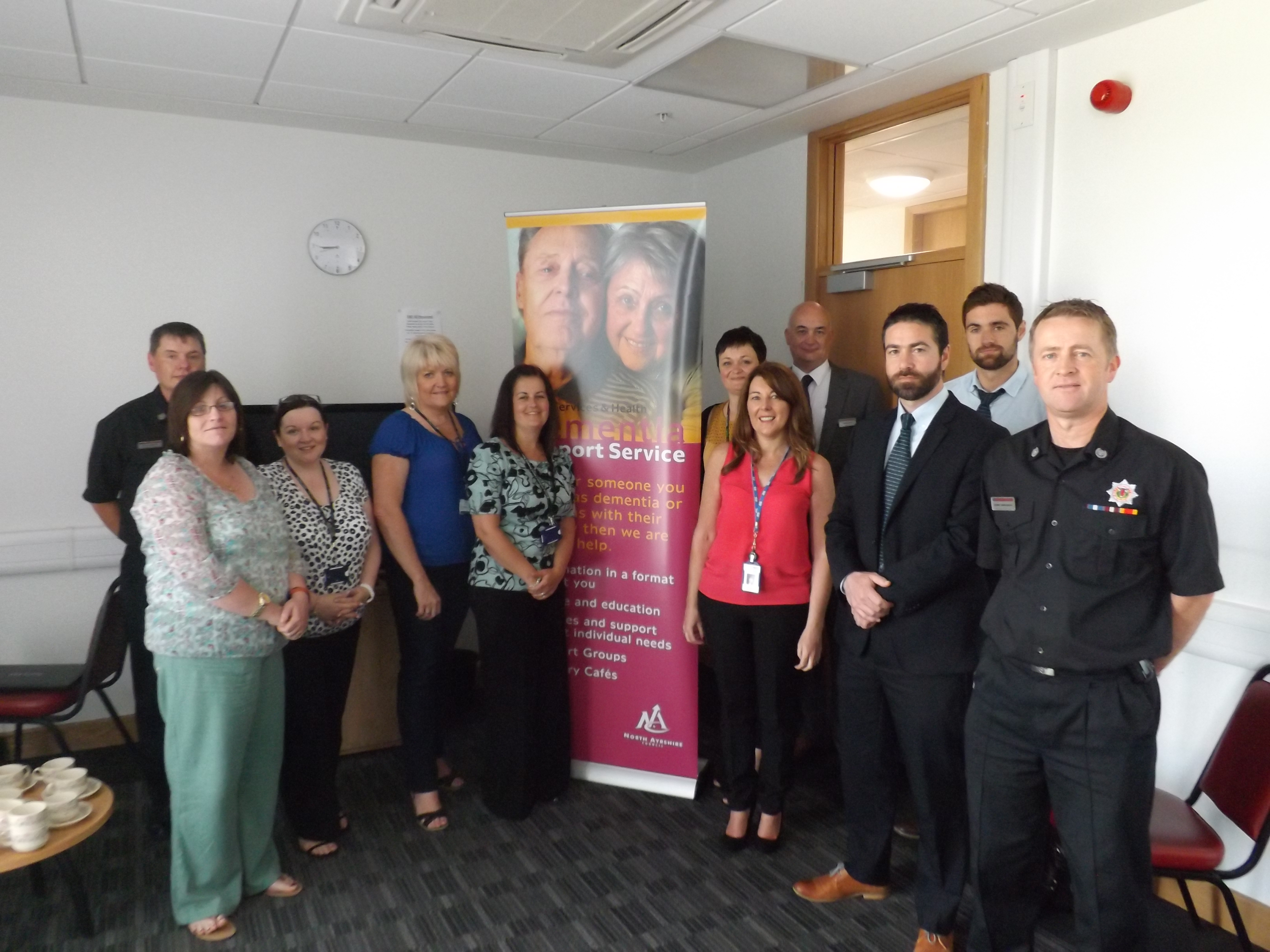 North Ayrshire partnership working to save lives