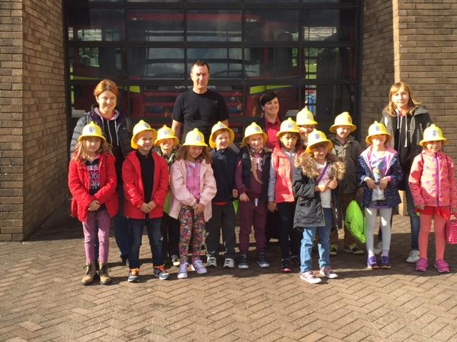 Friends of Chernobyl children visit Bathgate fire station