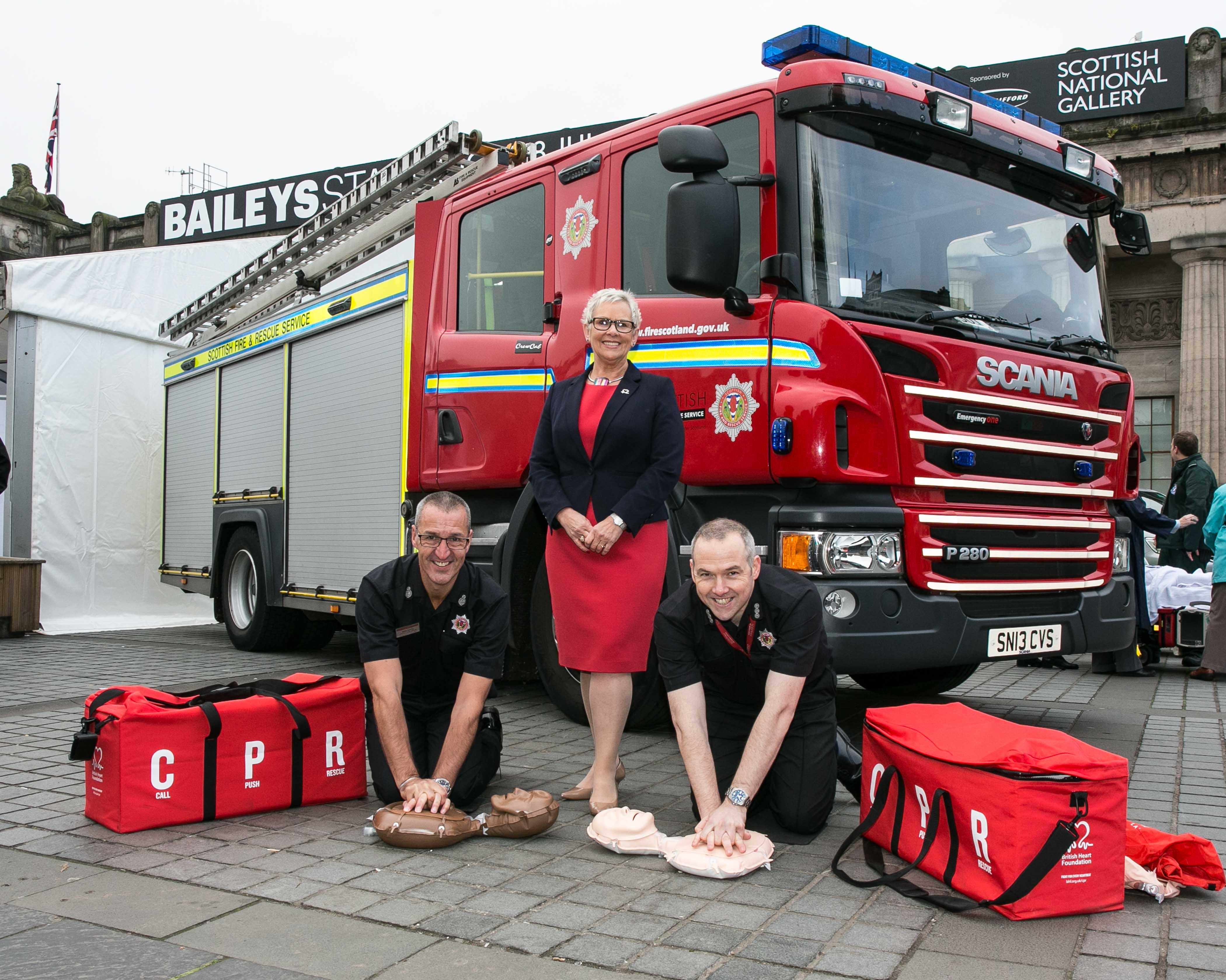 CPR event in Aberdeen