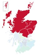 Map of the North of Scotland