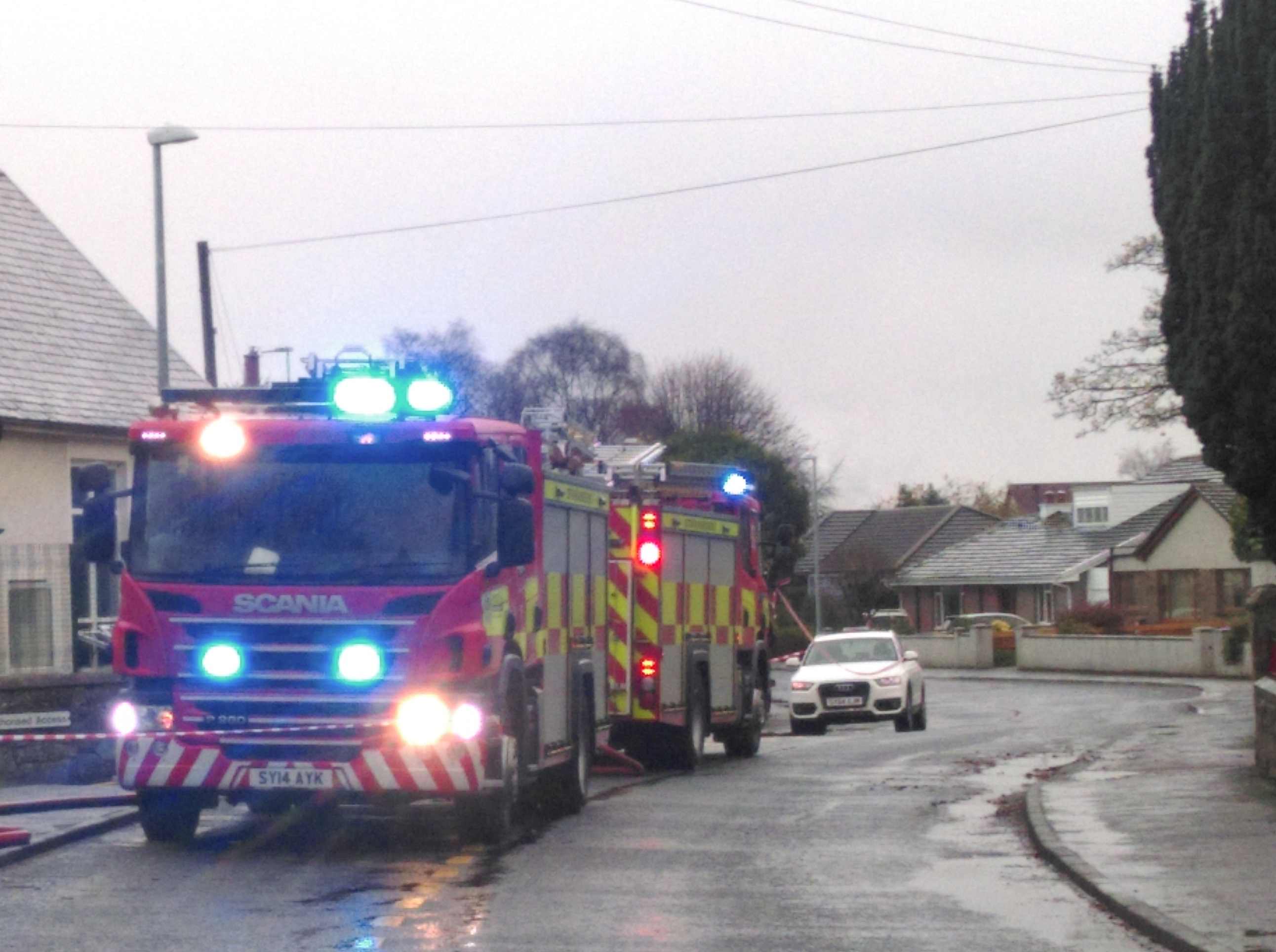 Fire at primary school building in Inverness
