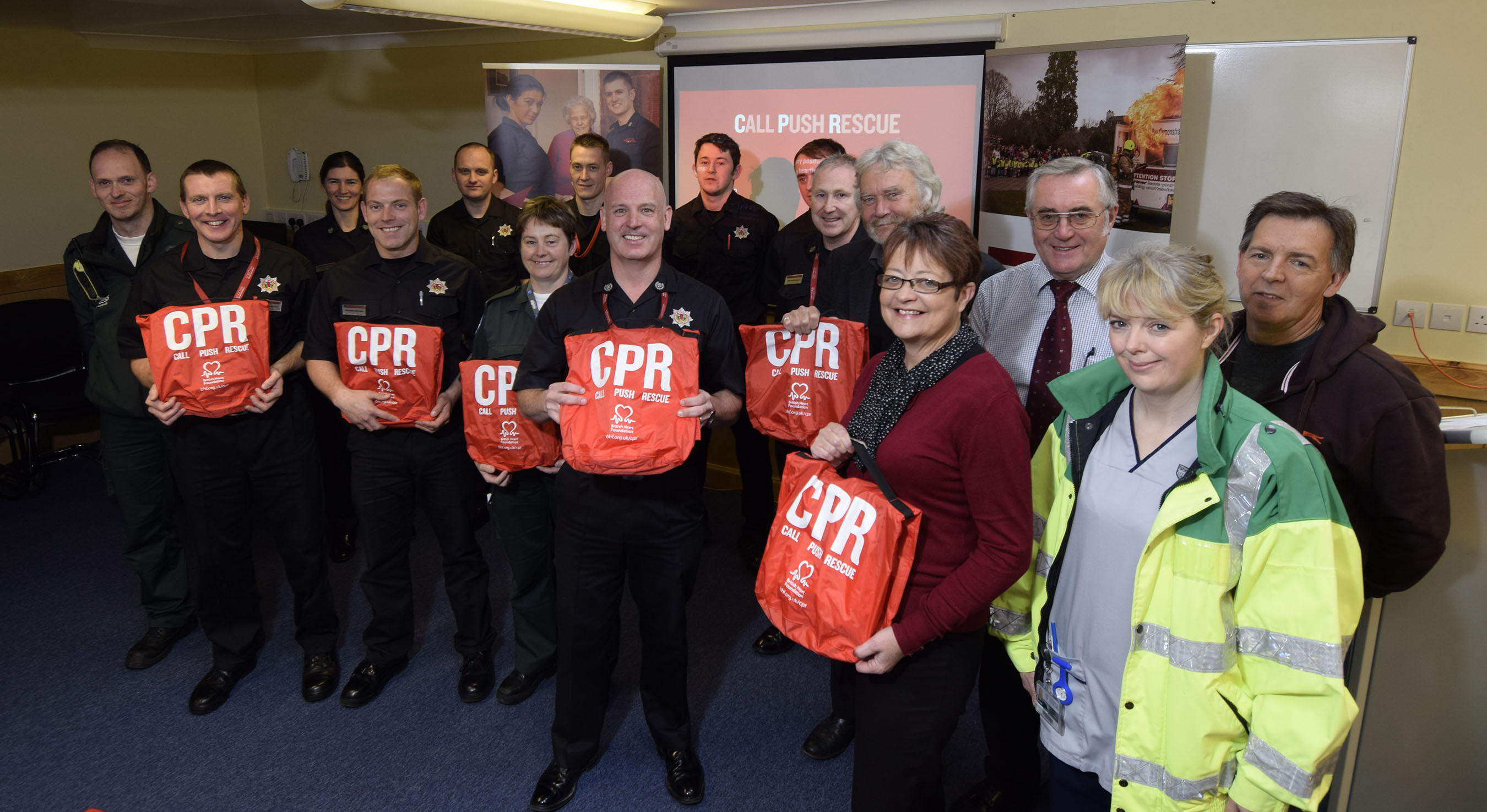 Restart A Heart event being held by SFRS at Fort William in 2016