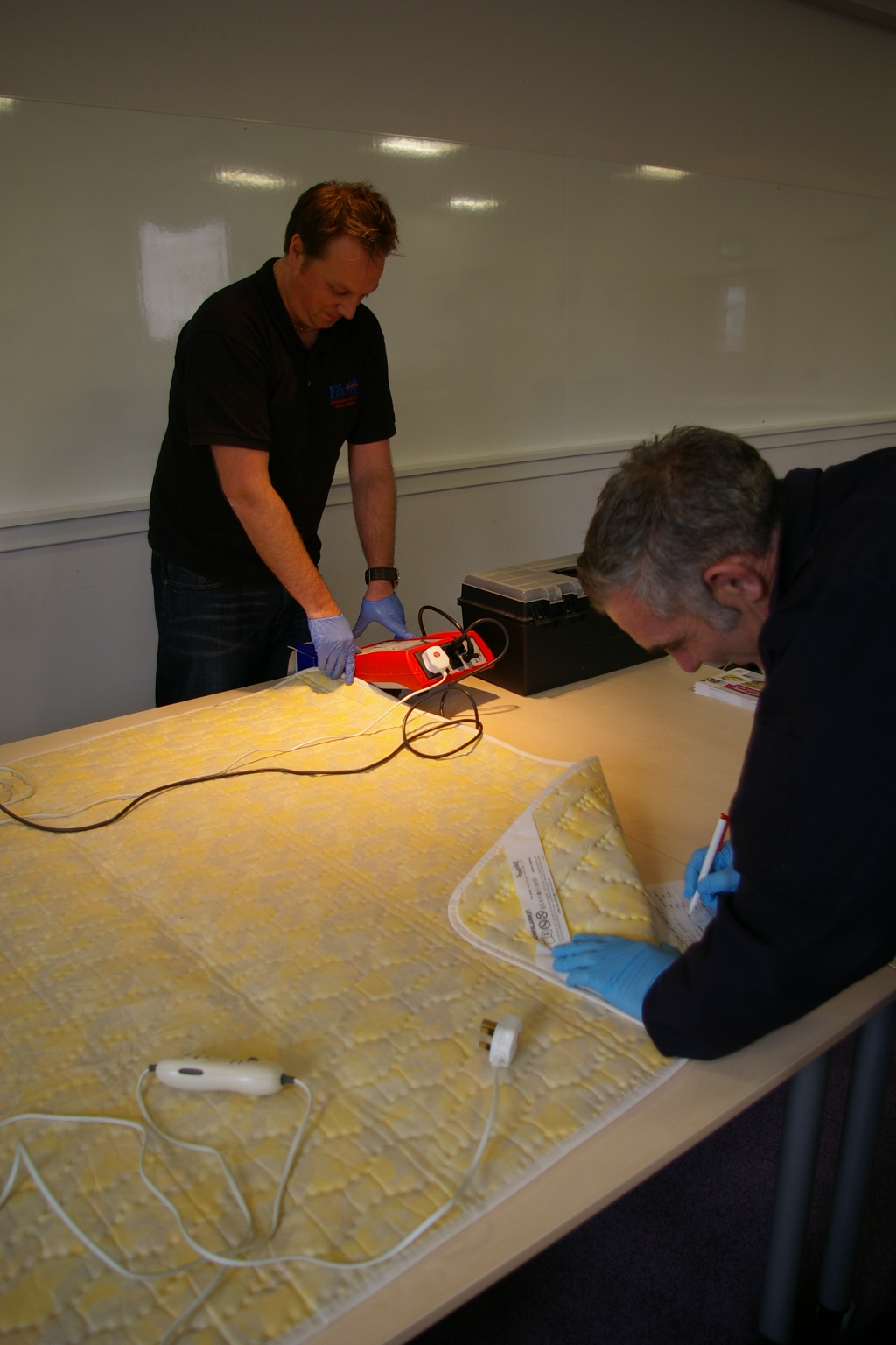 Make sure your electric blanket is safe by coming to our events