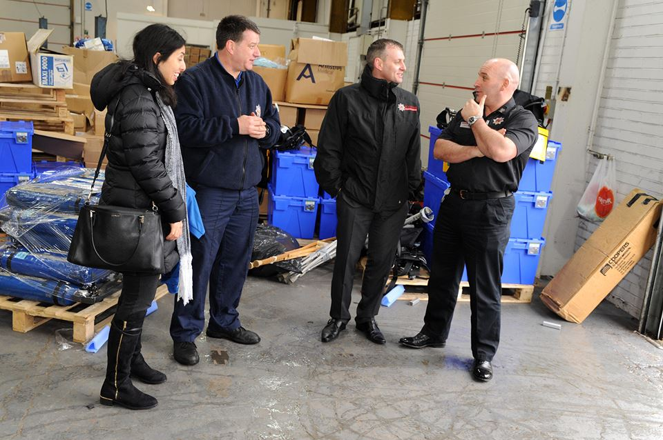 International Fire and Rescue Association send it's 47th container to Paraguay