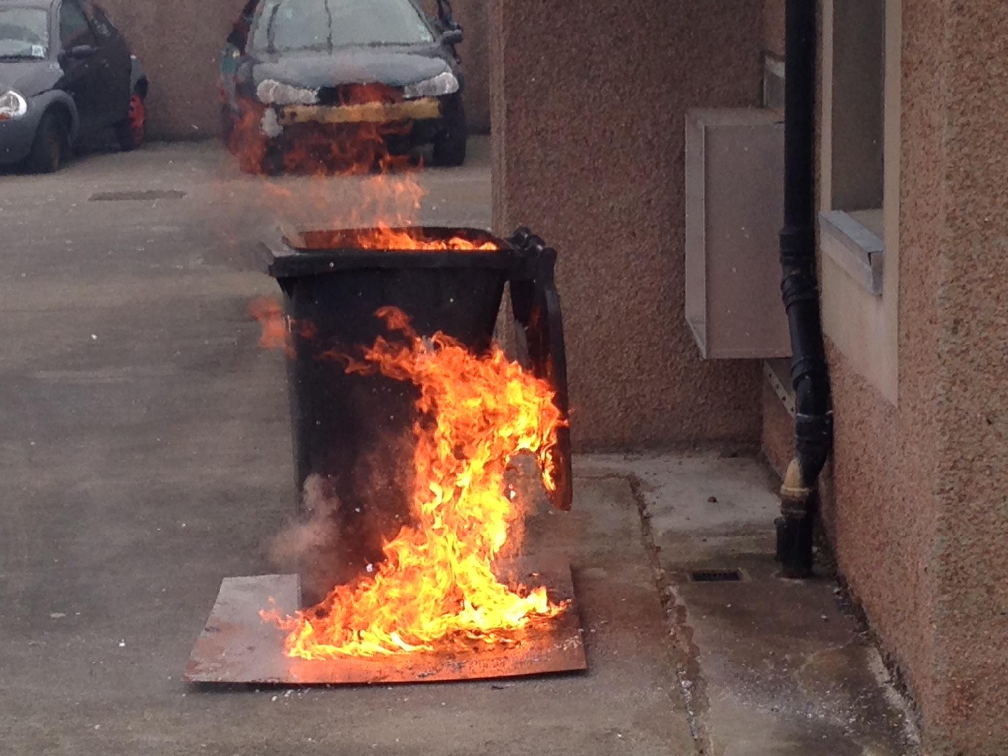 Deliberate fires in Edinburgh