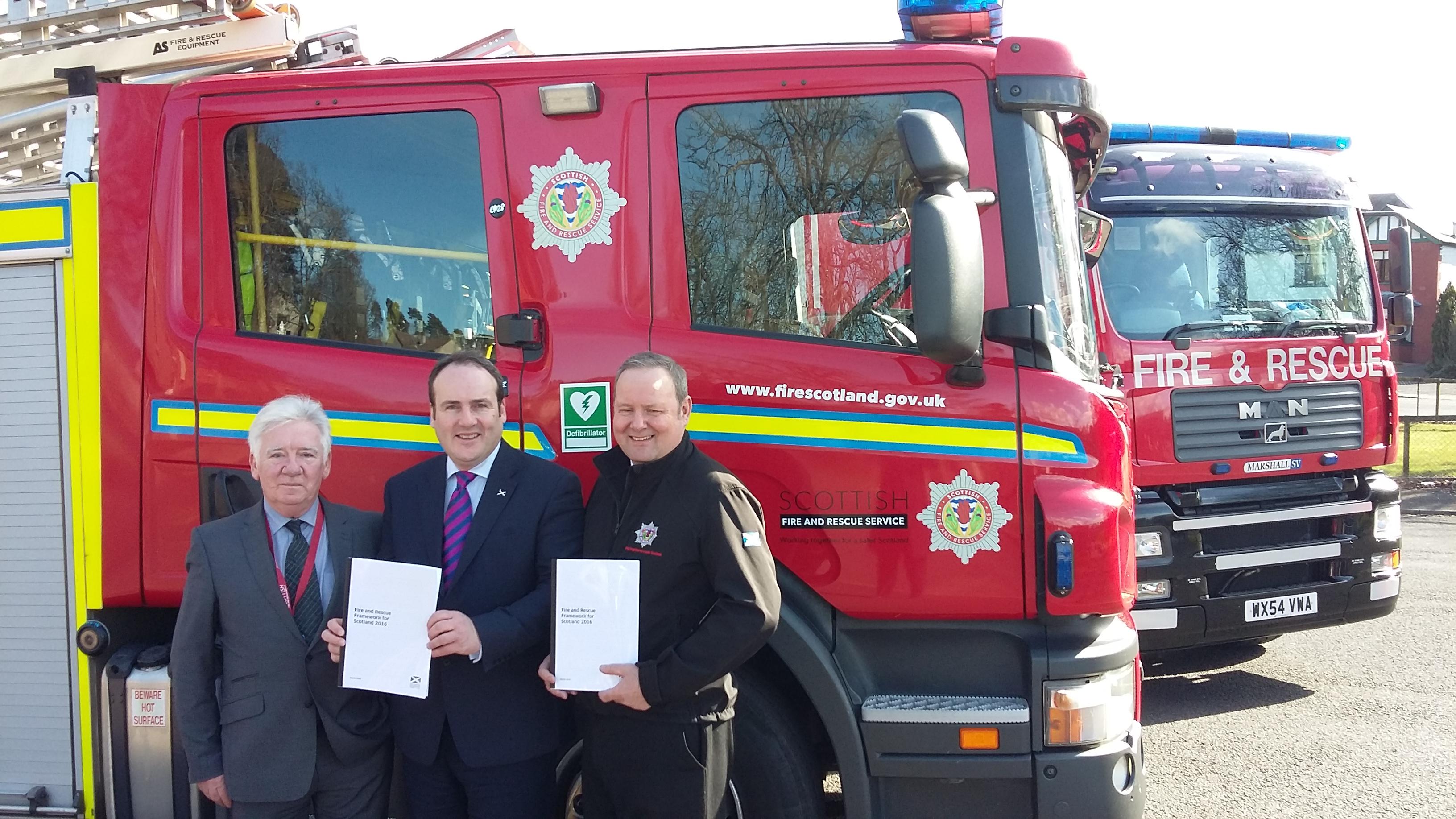 Minister announces fire framework consultation