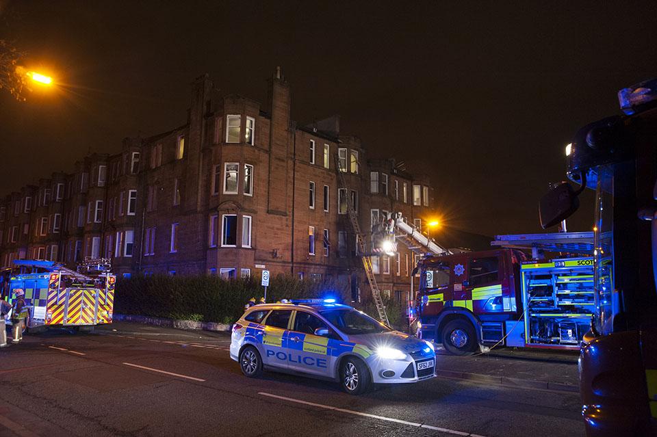Update: Tenement blaze in Fairburn Street, Glasgow