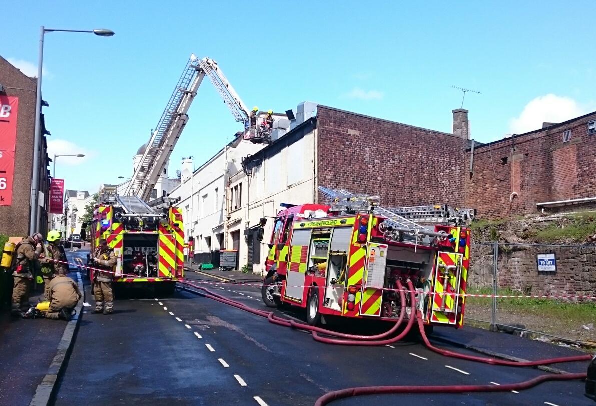 Fire in Falkirk restaurant (1)