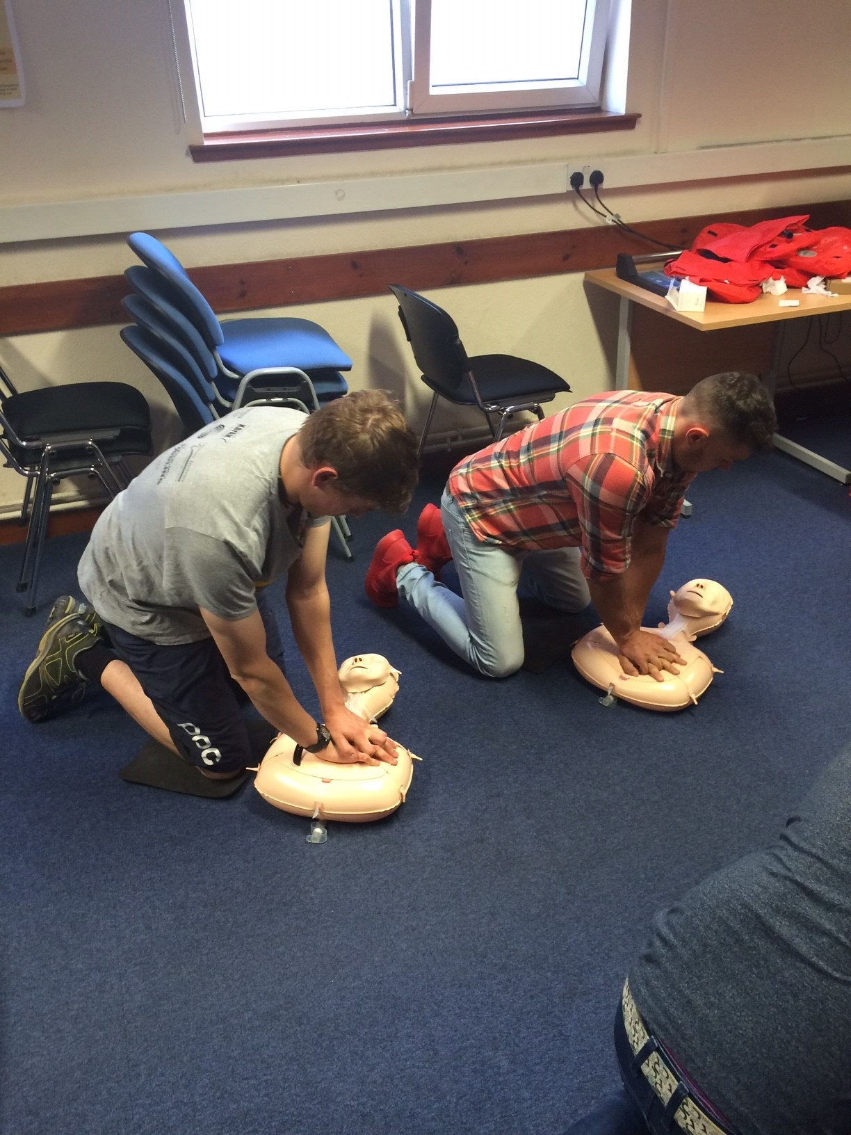 Potential new recruits jump at chance to learn life-saving CPR