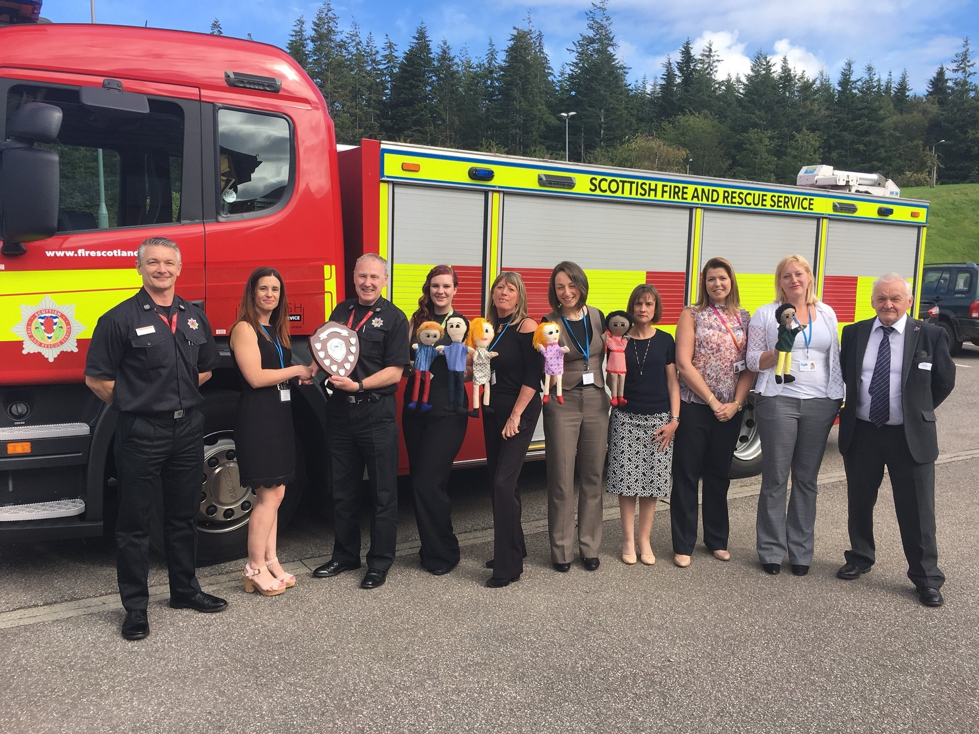 SFRS receive award from child protection group Safe, Strong and Free
