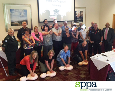 Over 300 people CPR trained in the Scottish Borders