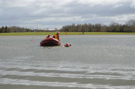 Water Rescue at Falkirk