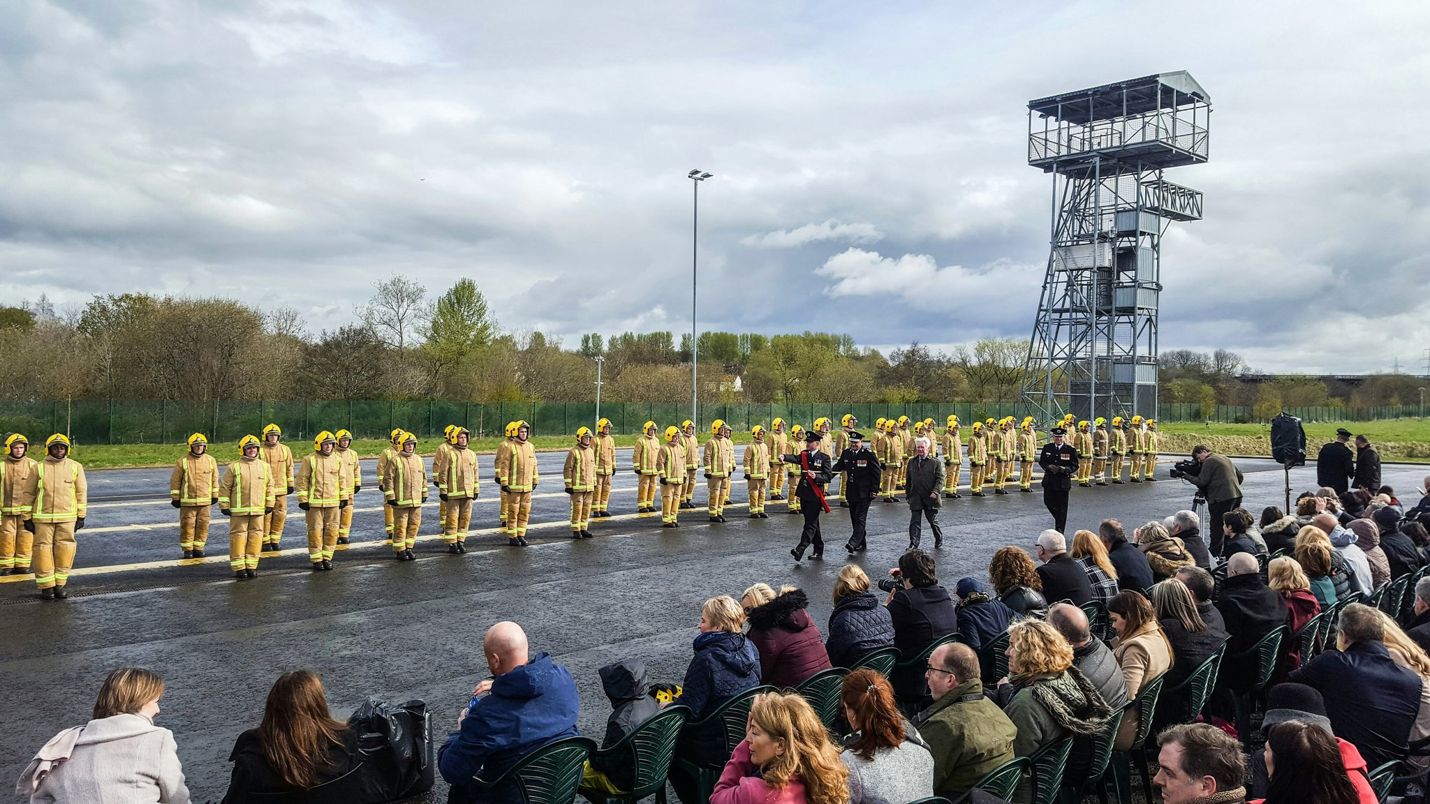 SFRS Welcome 101 Firefighters to the Frontline