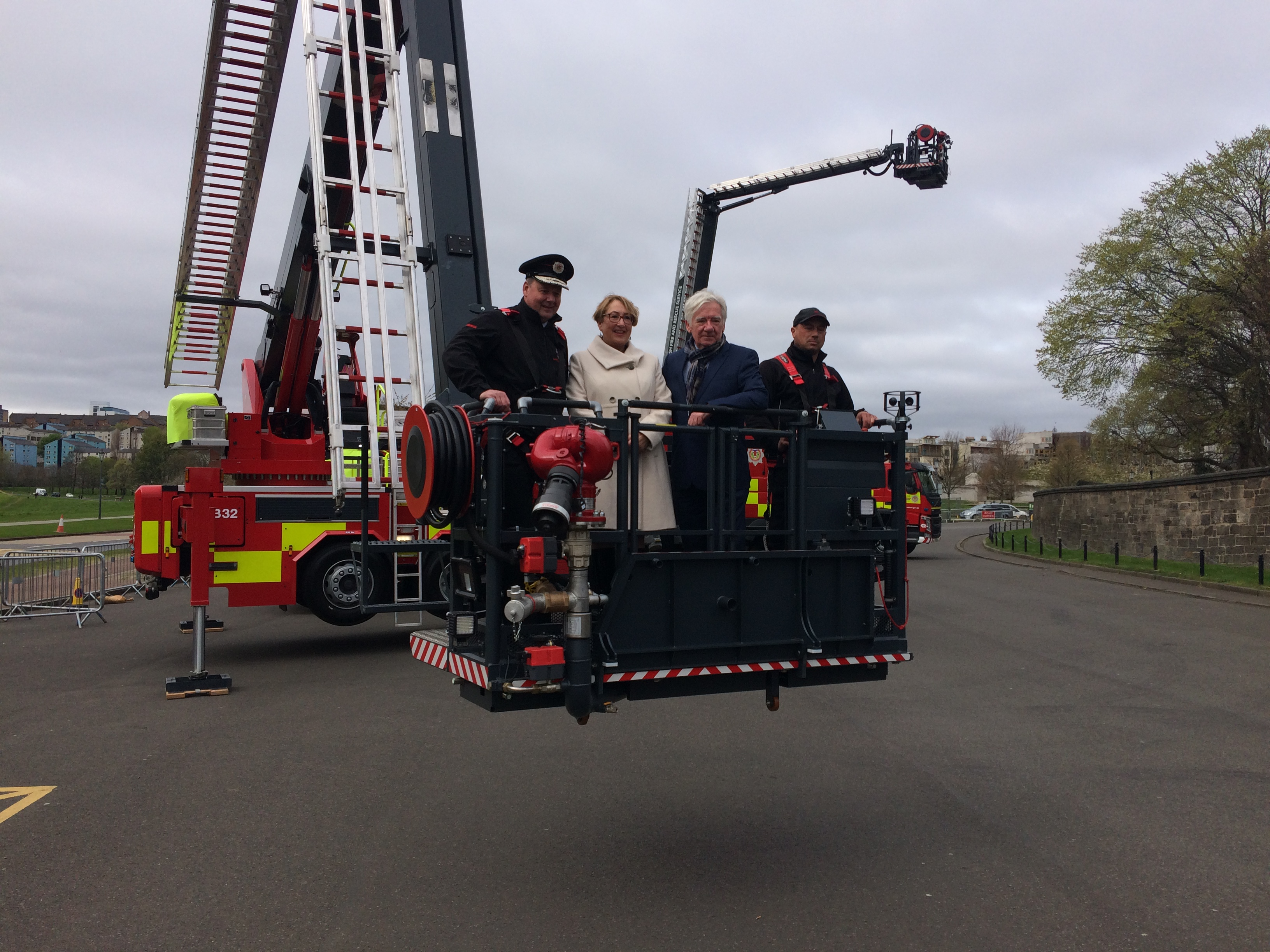 Arrival of New Fire Appliances