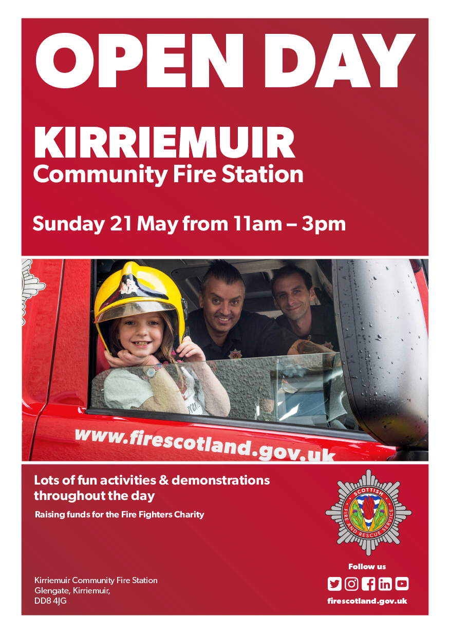 Kirriemuir Fire Station opens its doors