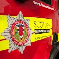 Fire at flat in Inverness