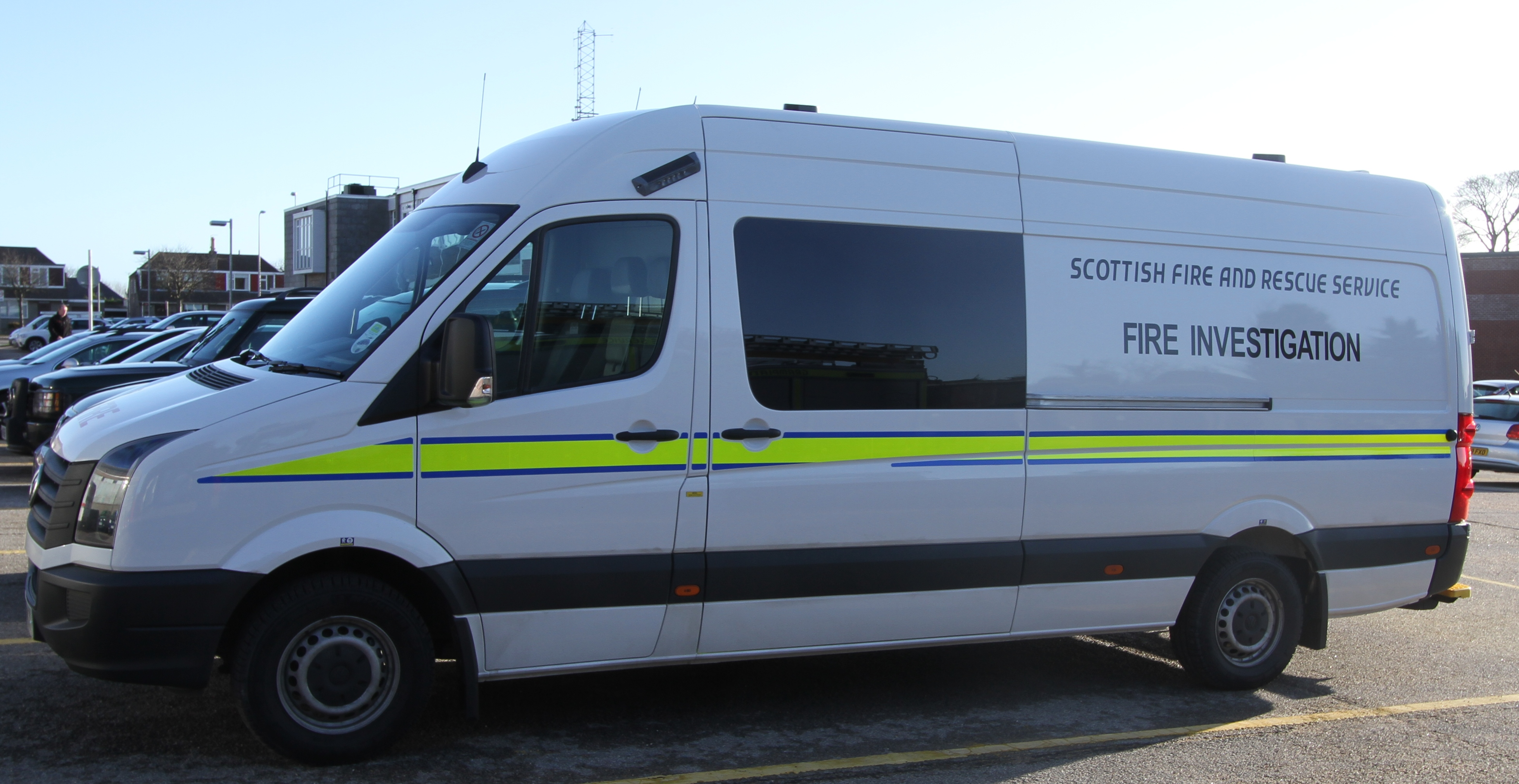 Fire Investigation Team - Orkney