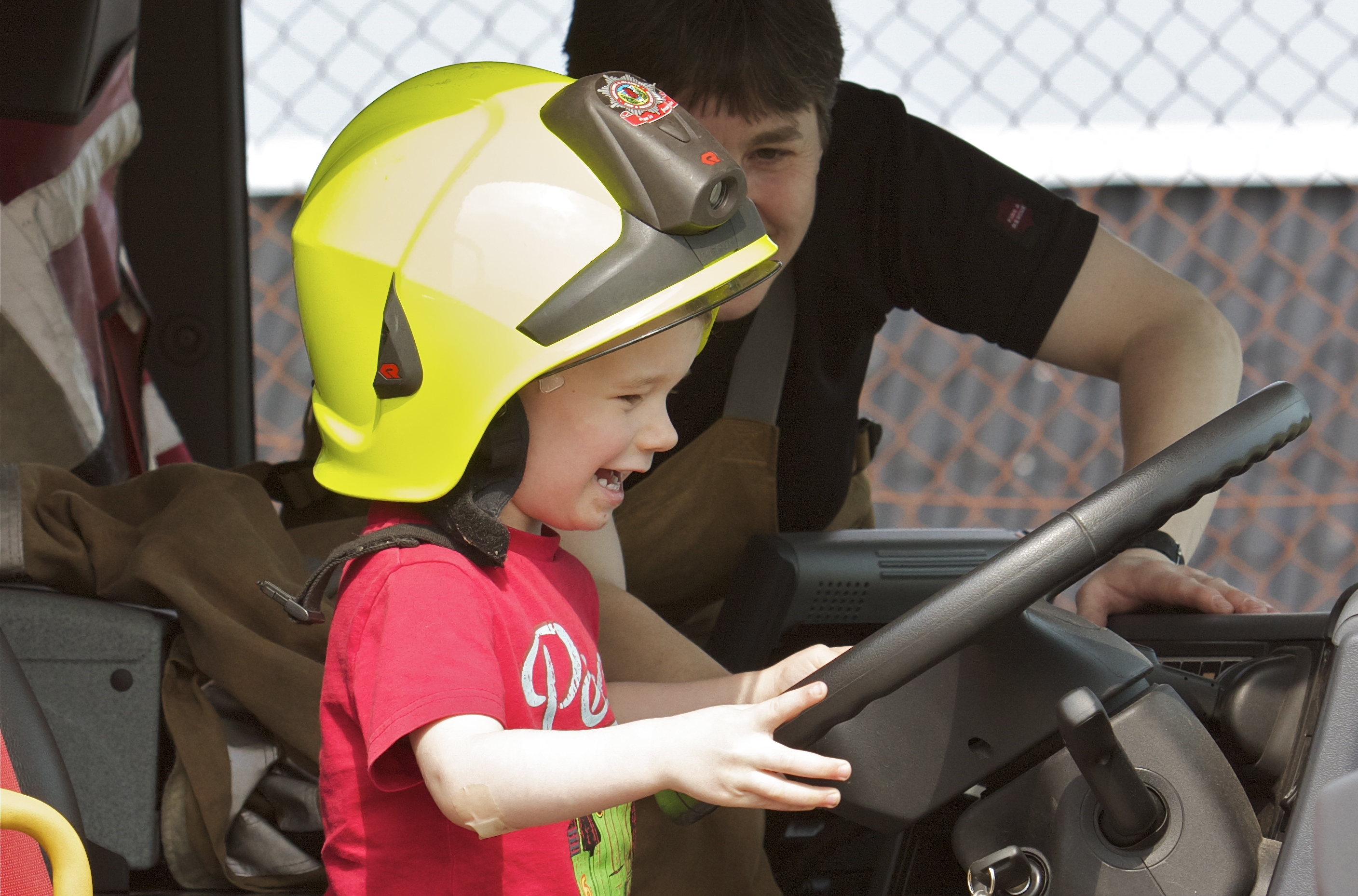 Ellon fire station open day