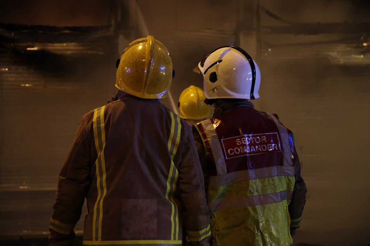 Fire at silo in South Lanarkshire