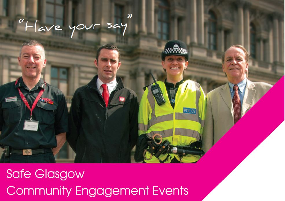 Safe Glasgow Community Engagement Events