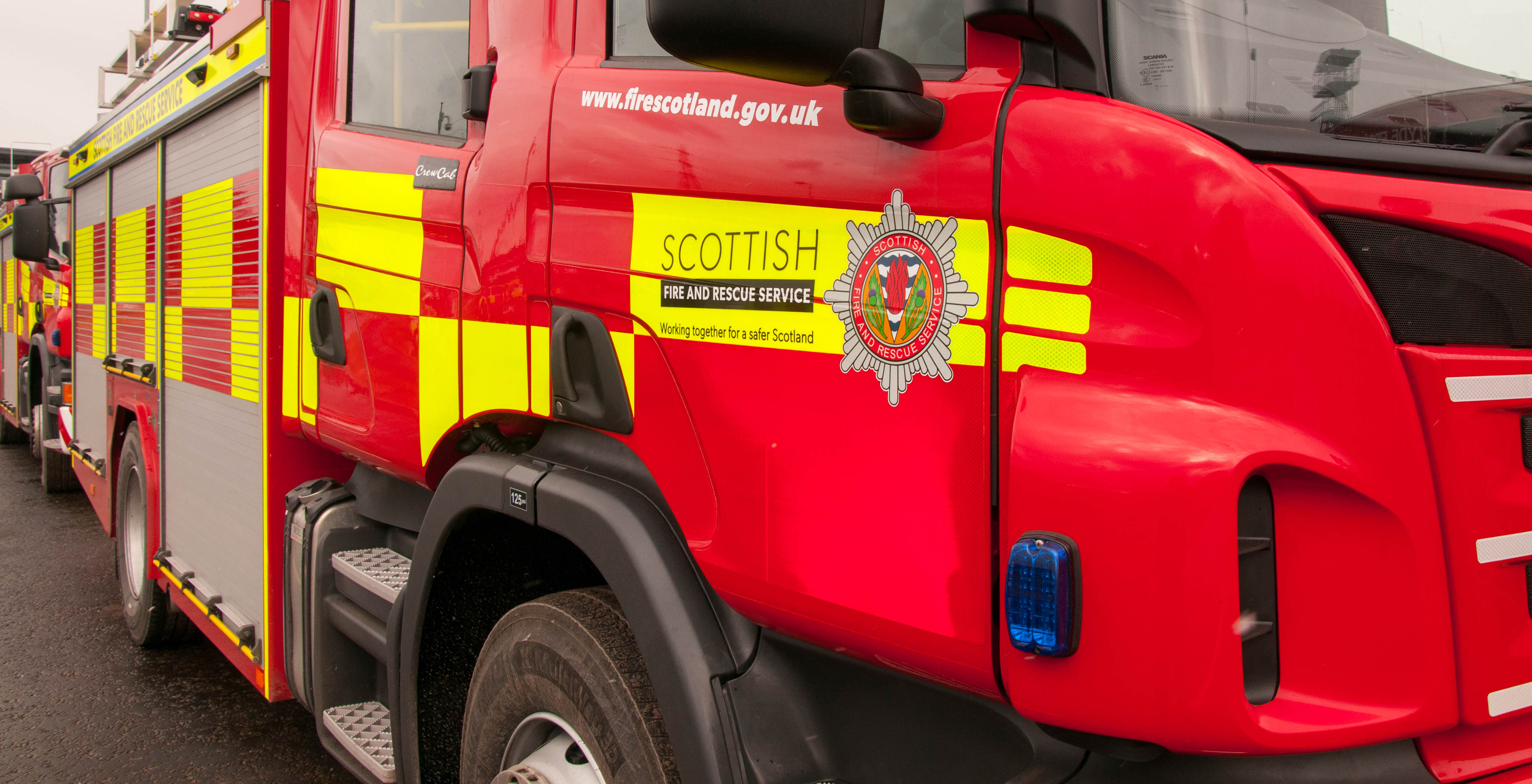 Fire-related injuries fall across North Ayrshire
