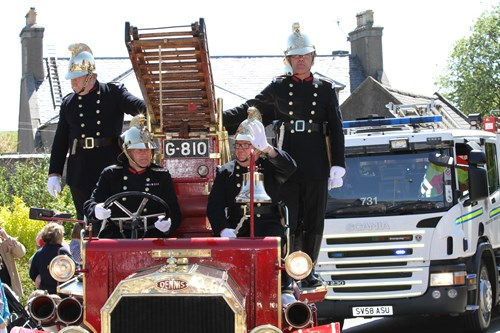 Ellon vintage fire engine 2