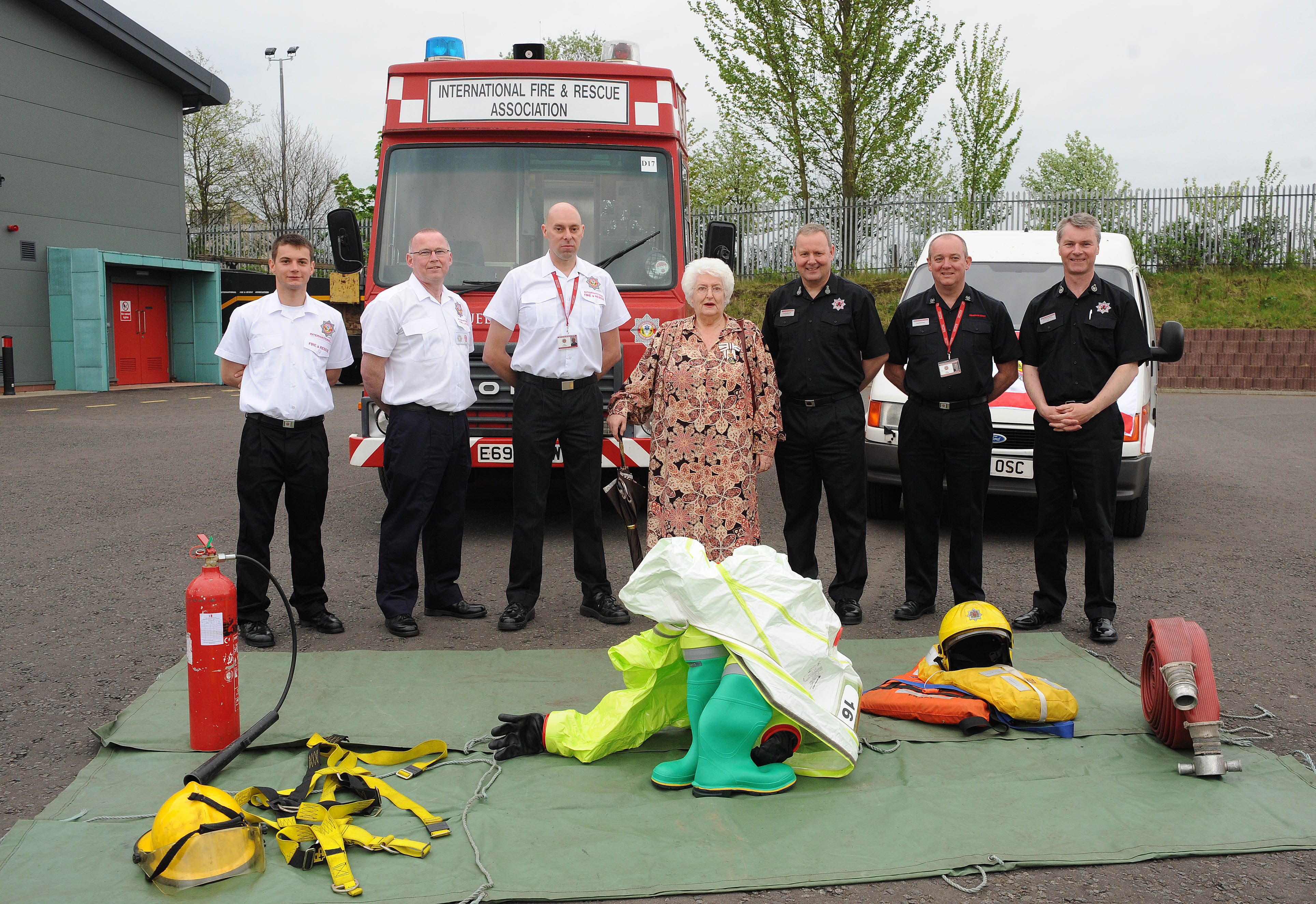 Bosnia mission for Scots firefighters