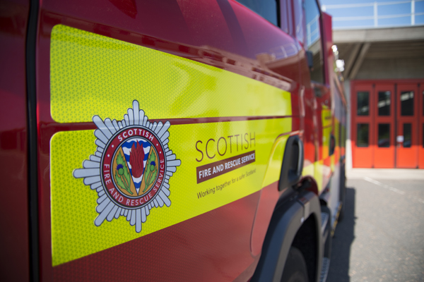 Working smoke alarm saved lives of nine people following Dufftown house fire