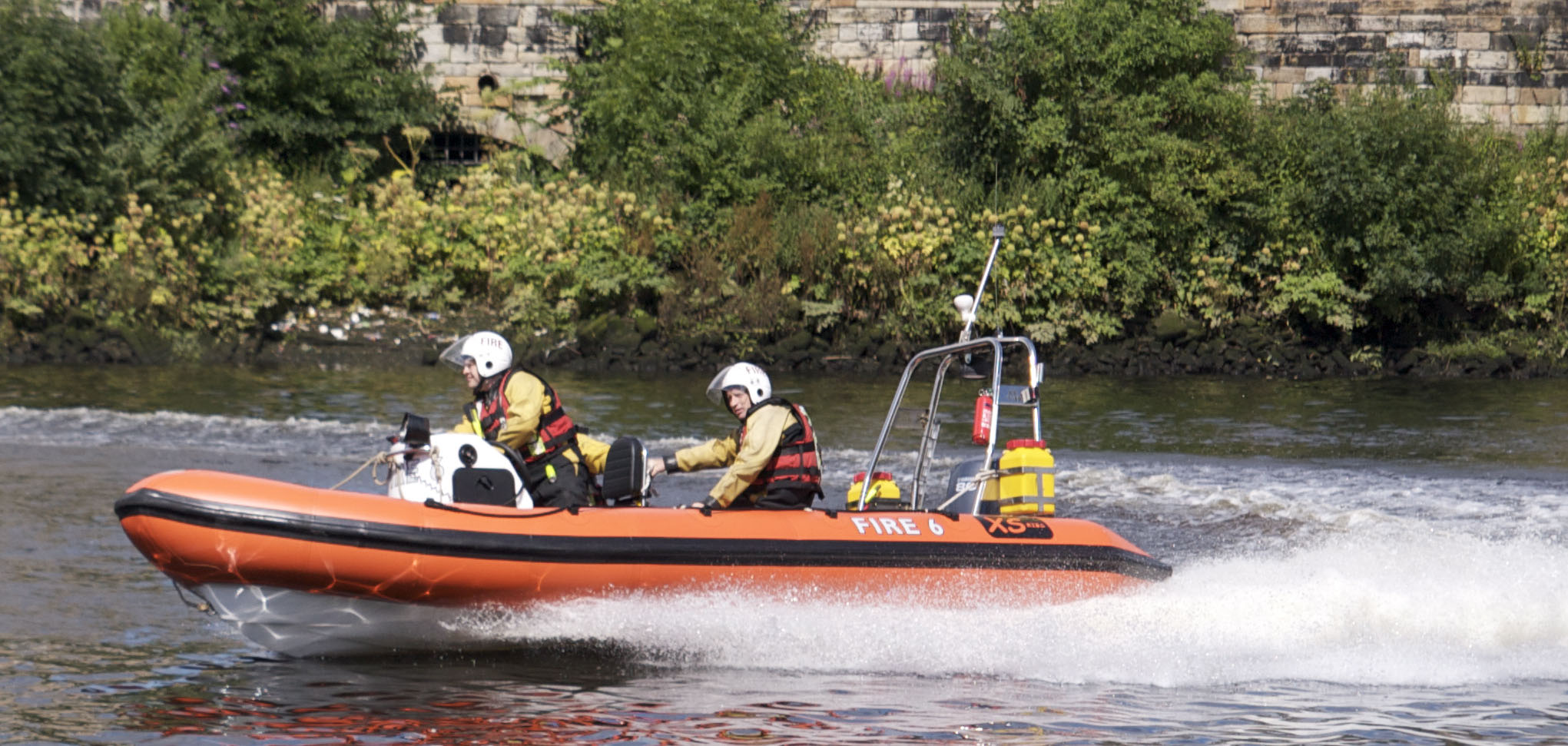 Specialist water rescue in Ayr