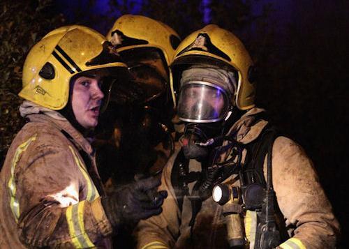 Fatal fire in Melrose