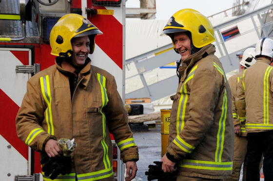 Call for firefighters in Stirling