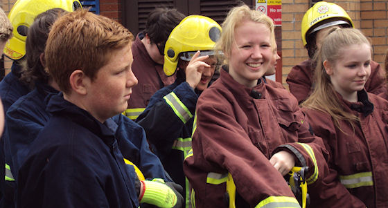 Drill contest puts youngsters through their paces