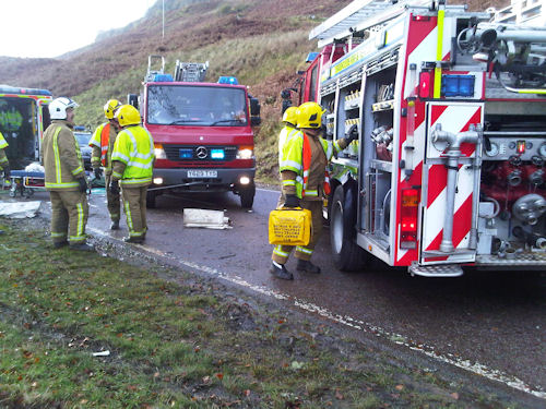 Firefighters respond to Argyll crash