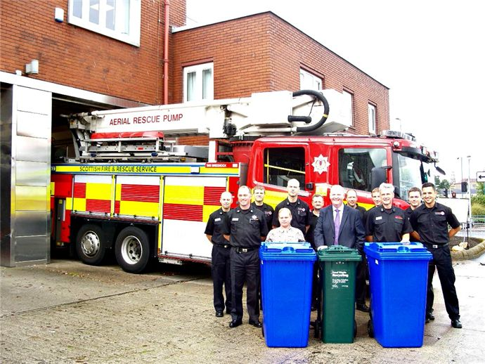 Praise for recycling efforts in Greenock