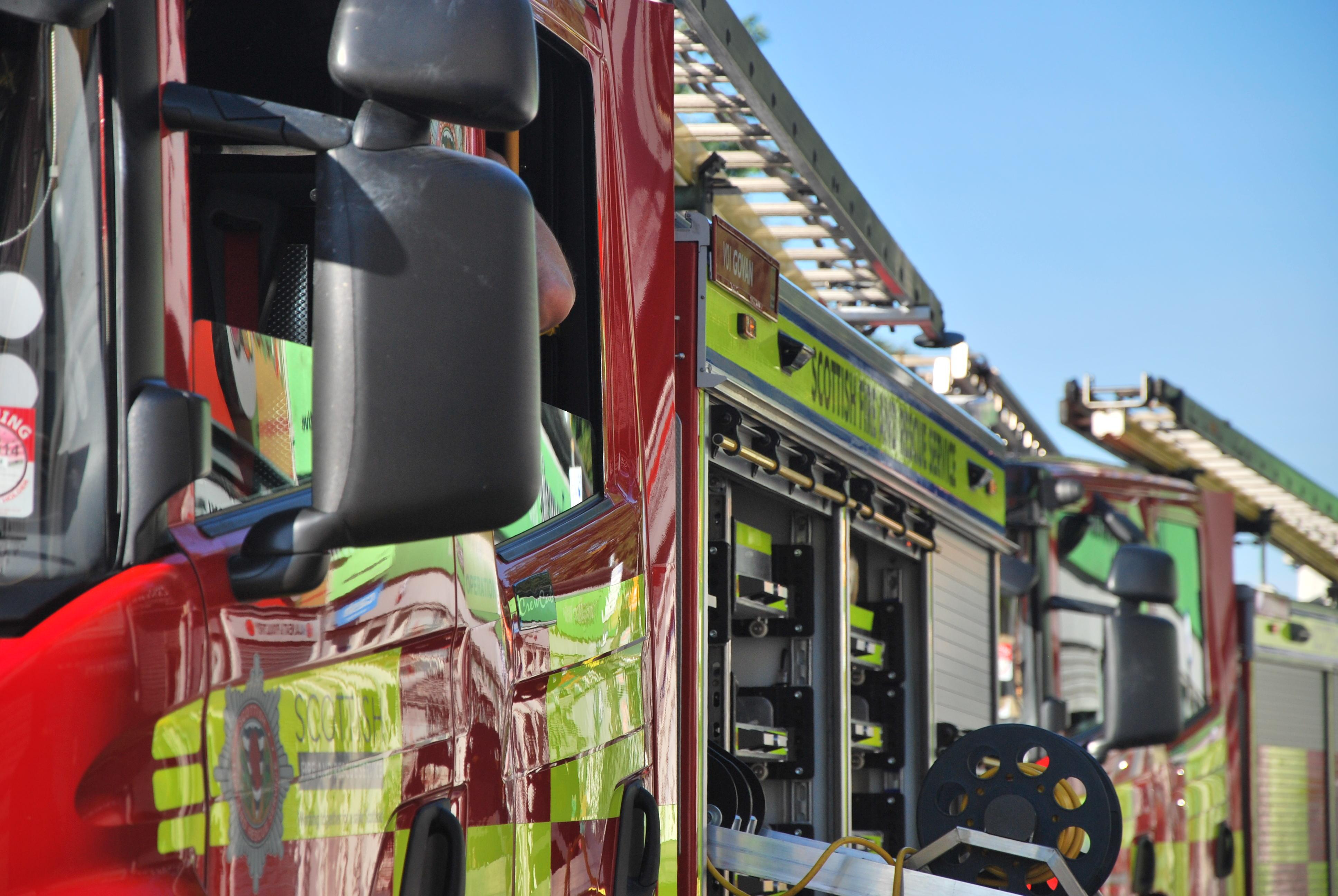 Renfrewshire kitchen fire