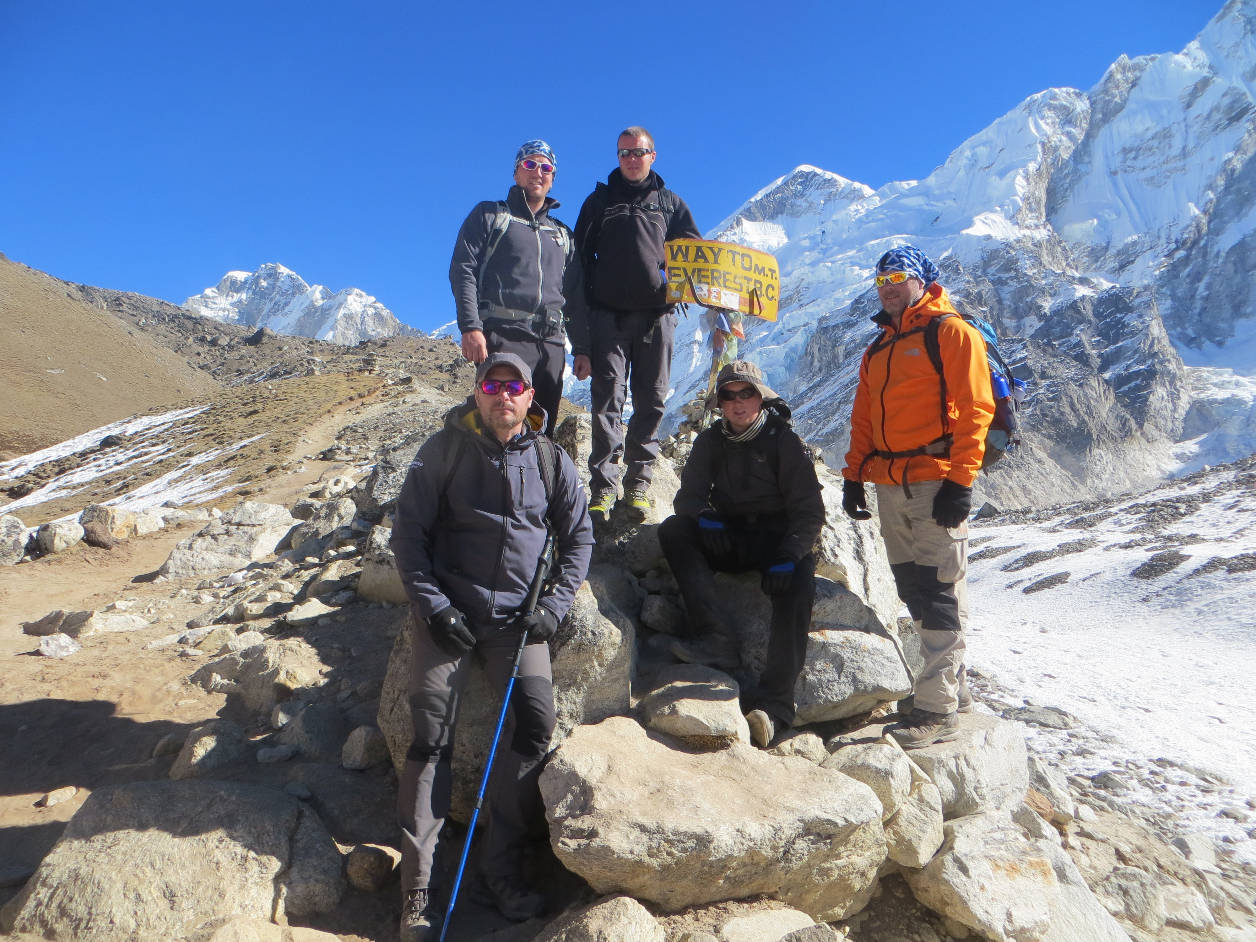 Firefighters raise over £6,000 for Firefighters' Charity with Everest trek