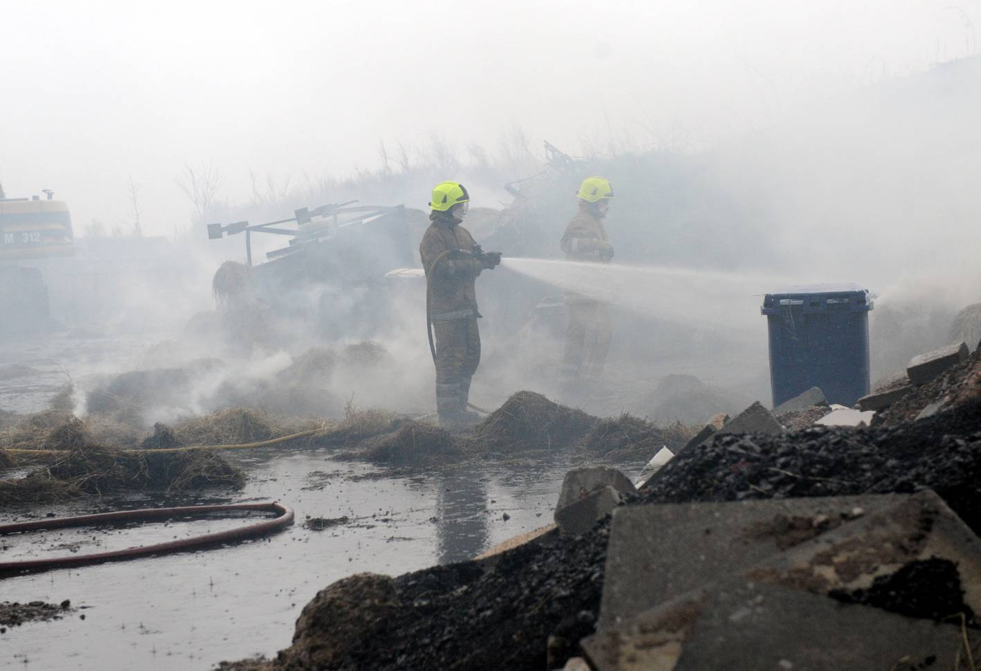 Firefighters dealt with steading fire at Pitcaple, Aberdeenshire