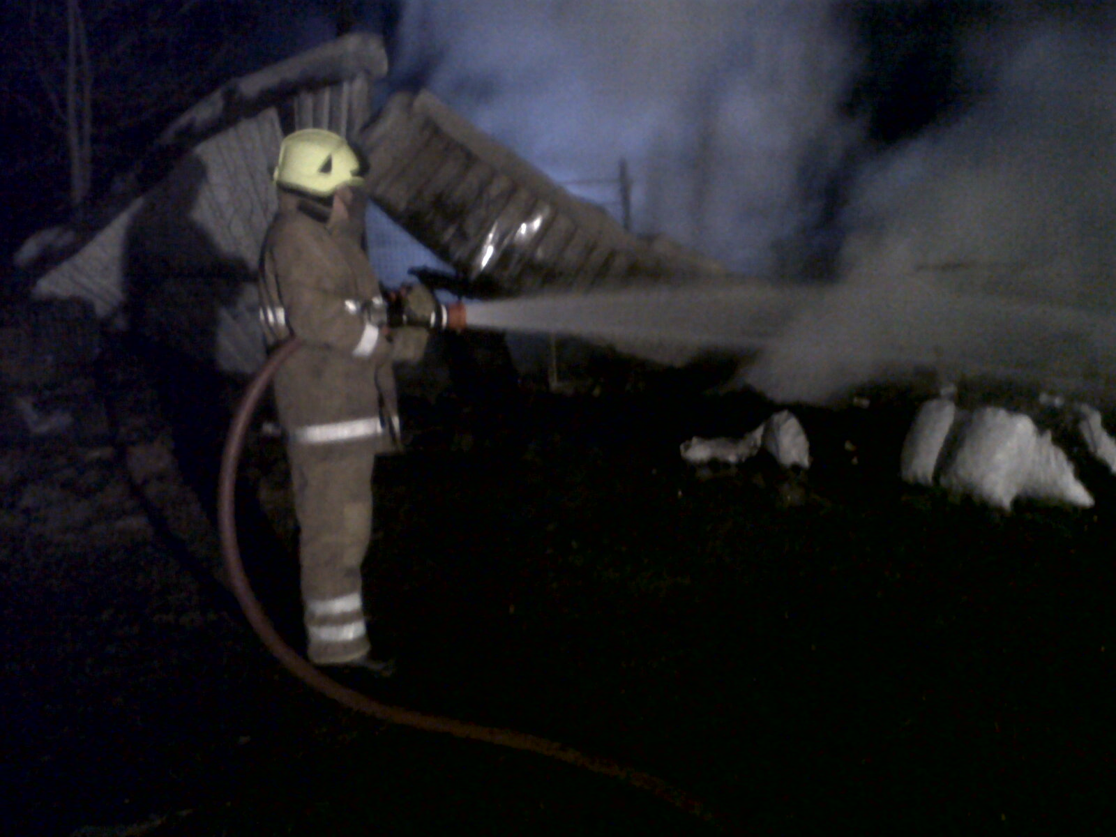SFRS deal with large fire at Aberdeenshire farm