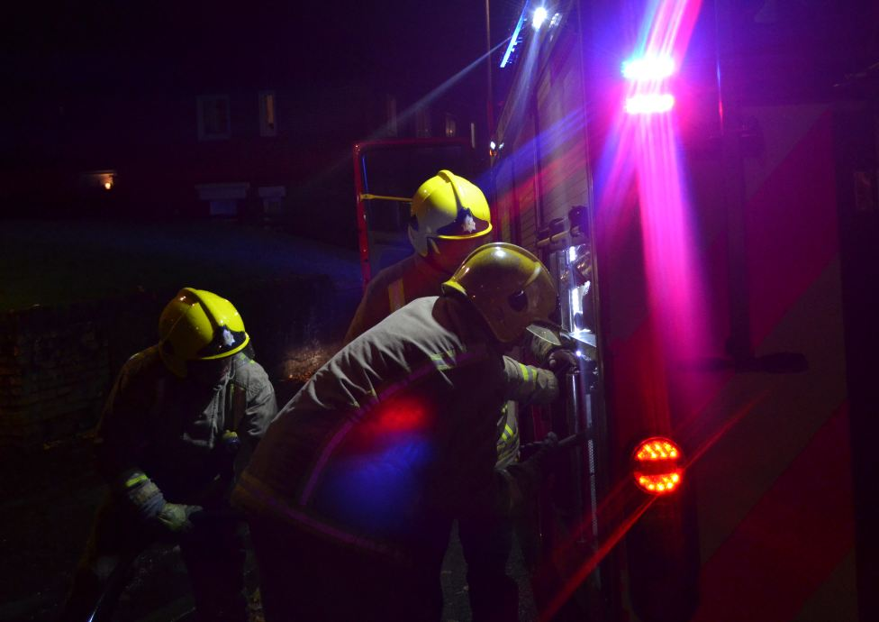 Firefighters tackle Argyll and Bute blaze