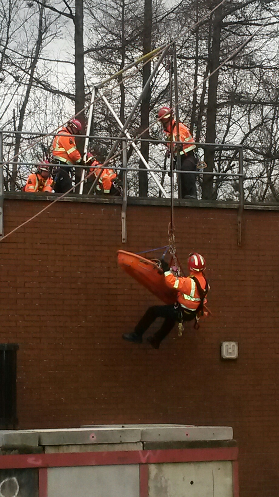 Man rescued after 15 metre fall in Edinburgh