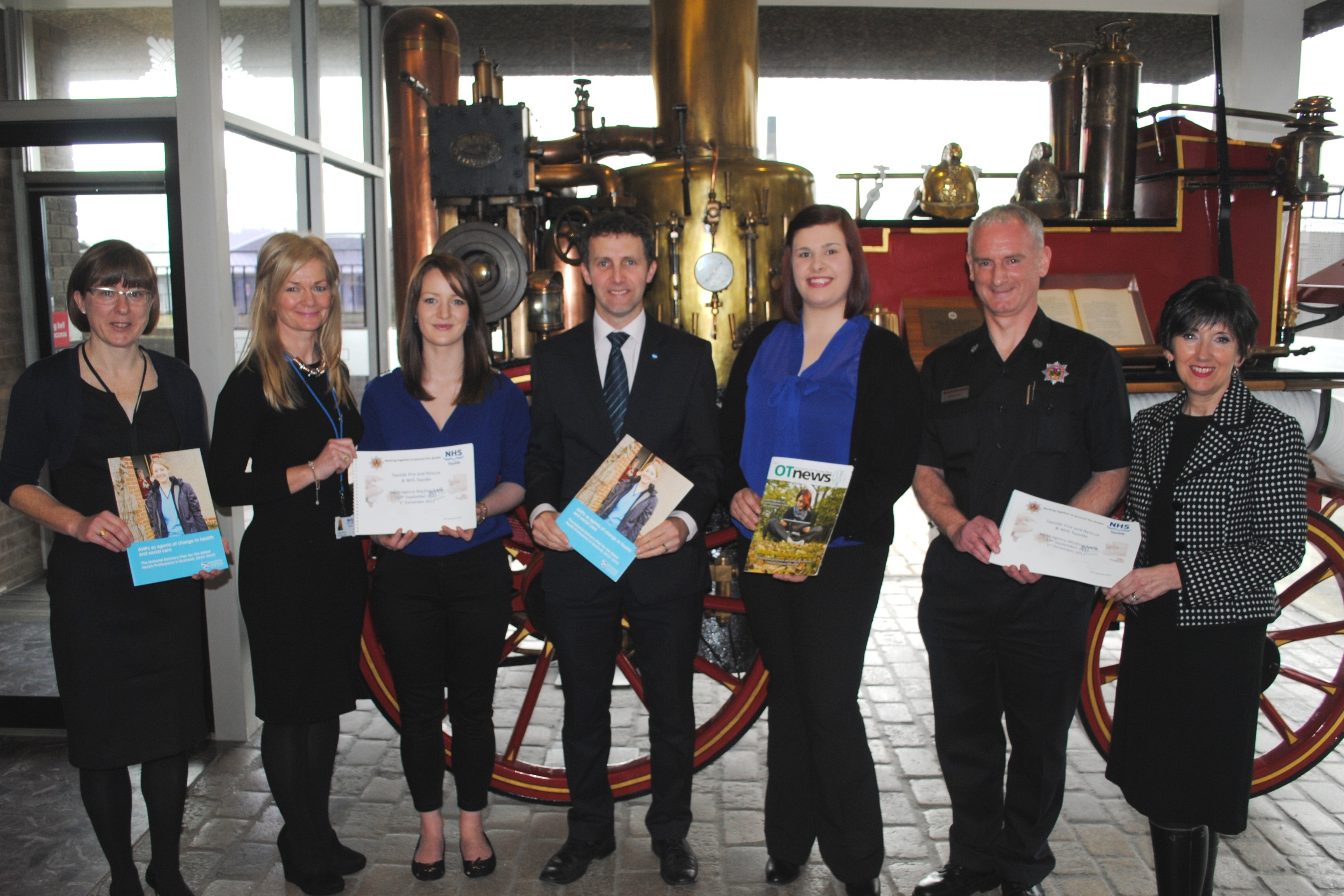 Partnership approach to reducing fire accidents showcased in Dundee