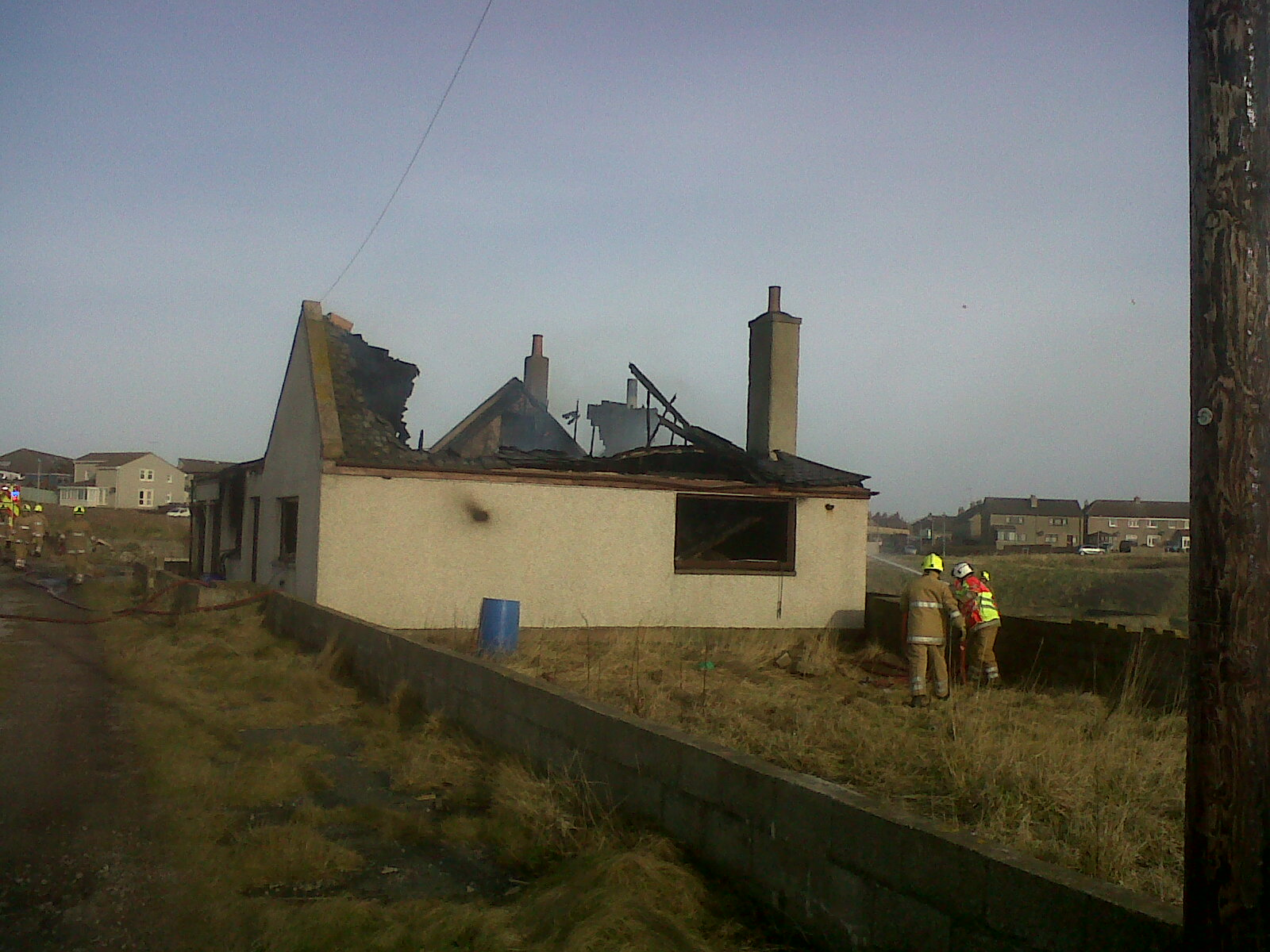 Crews tackle Aberdeenshire fire