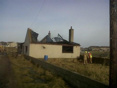 Crews tackle Aberdeenshire fire