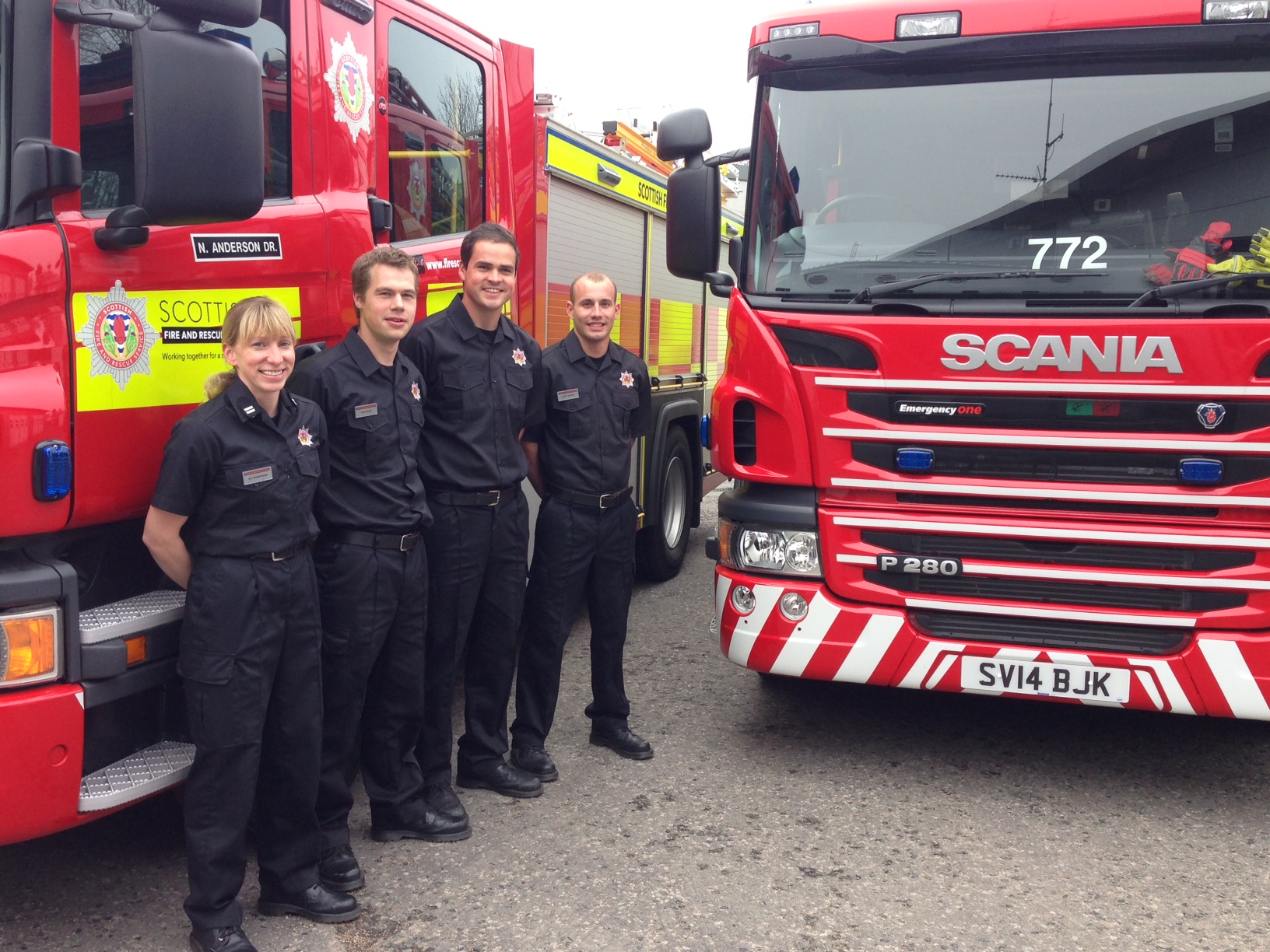 First new appliances arrive in Aberdeen as part of new SFRS investment in fleet